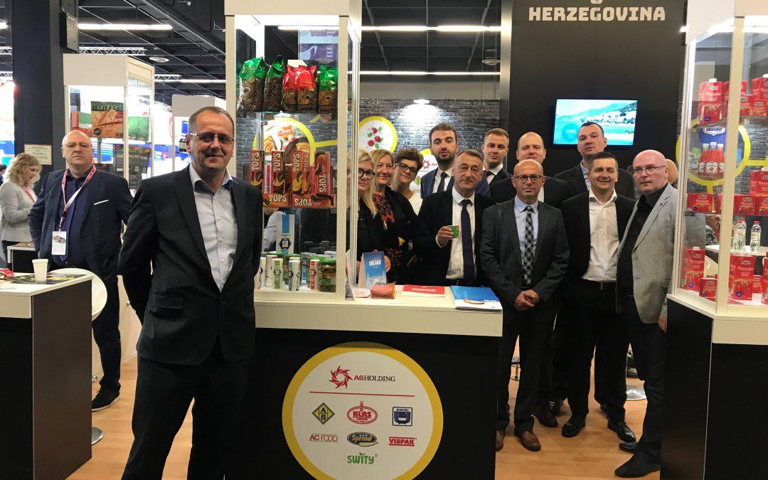 AS Holding na najvećem svjetskom sajmu hrane i pića: ANUGA i ovaj put osigurala nove kupce