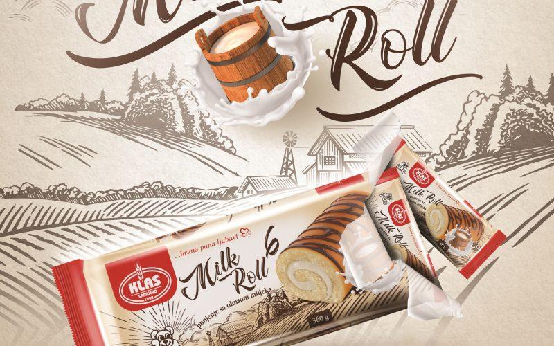 Novo iz Klasa: Sarko Milk roll 6 u novom pakovanju