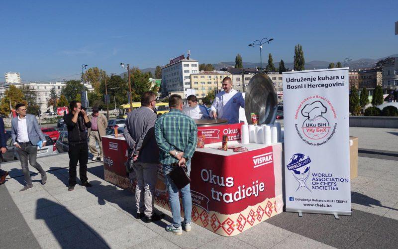 Vispak i Udruženje kuhara BiH pripremili najveću porciju Tarhane na Balkanu
