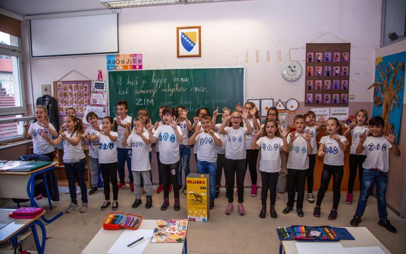 ZIM sa učenicima osnovnih škola u Zenici pokrenuo projekat redizajna ambalaže i loga