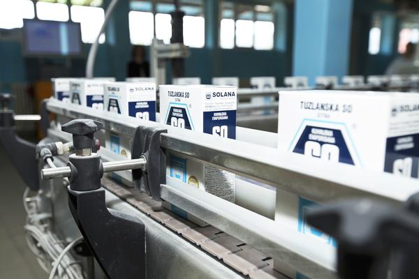 Tuzlanska Solana i u vrijeme pandemije koronavirusa redovno proizvodi i distribuira so